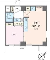 ベルトピア新松戸第2[5階]の間取り