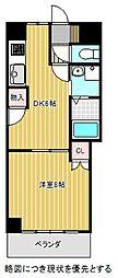 愛知県名古屋市千種区本山町4丁目の賃貸マンションの間取り
