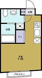 翔・阿波座[3階]の間取り