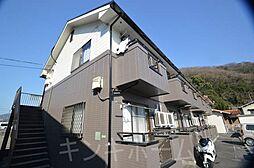 広島県広島市安芸区中野東7丁目の賃貸アパートの外観