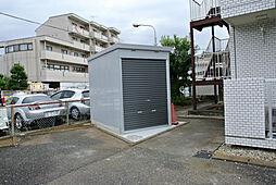 オーエマンション オートバイ屋根付駐輪場