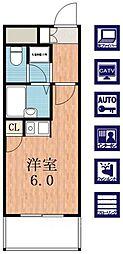 トーシン昭和町ビル[7階]の間取り