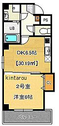 Pear Residence Centralpark[602号室]の間取り