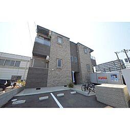 福岡県福岡市西区内浜1丁目の賃貸アパートの外観