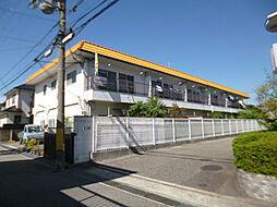 兵庫県宝塚市星の荘の賃貸アパートの外観