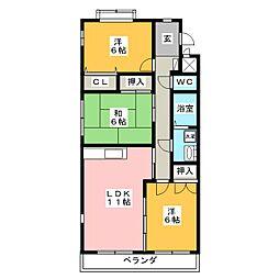 SC21[5階]の間取り