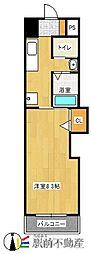 フロラシオンマンション[3階]の間取り