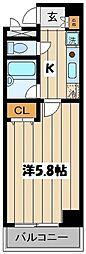 東京都墨田区太平4丁目の賃貸マンションの間取り