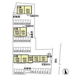 (仮)D-room平井町 B[2階]の外観