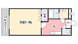 千葉県習志野市実籾3丁目の賃貸マンションの間取り