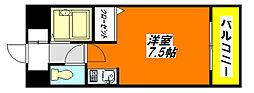 SENTIA・八戸ノ里 301号室[3階]の間取り