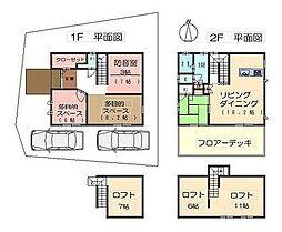 北大阪急行電鉄 千里中央駅 バス12分 白島北下車 徒歩4分 4LDKの間取り