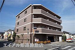 兵庫県姫路市飾磨区構5丁目の賃貸マンションの外観