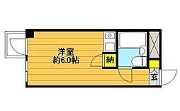 メゾン・ド・ノアピア富士見町[110号室]の間取り