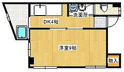 久保マンション[2-1号室]の間取り