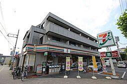 埼玉県越谷市大沢3丁目の賃貸マンションの外観