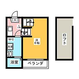 Casa di Chaton[1階]の間取り