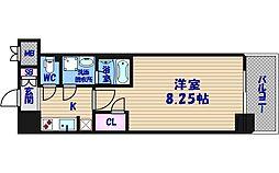 アーデン谷町[11階]の間取り