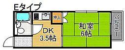 プレアール住之江公園IV[4階]の間取り