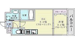 JR大阪環状線 京橋駅 徒歩7分の賃貸マンション 1階1DKの間取り