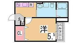 西舞子駅 4.7万円