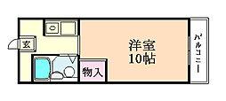 タクティ加美[304号室]の間取り