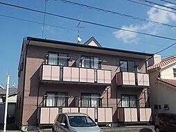 鹿児島県鹿児島市紫原4丁目の賃貸アパートの外観