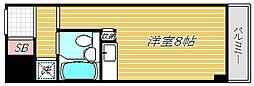 シティーコープ浅草橋'90[5階]の間取り