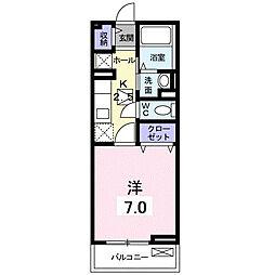 メゾン・プリムローズ[1階]の間取り