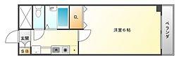 コンチェルト豊津[2階]の間取り