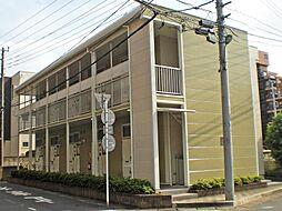 埼玉県朝霞市西原2丁目の賃貸アパートの外観