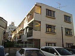 神奈川県川崎市中原区上丸子天神町の賃貸マンションの外観