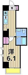 朱雀楼 東京[7階]の間取り