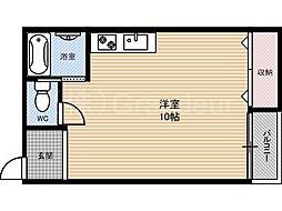 奥村第5ハイツ[2階]の間取り