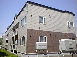 北海道札幌市東区北二十条東21丁目の賃貸アパートの外観