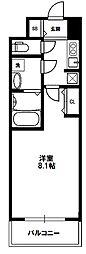 アドバンス新大阪III[5階]の間取り