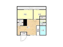 北松戸ビル[3階]の間取り