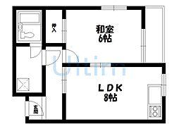 IGORYOII[2階]の間取り