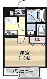 ベラジオ京都高台寺[505号室号室]の間取り