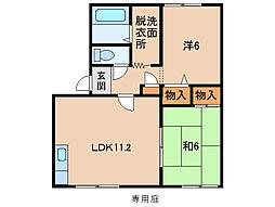 グランファーム[1階]の間取り