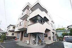 兵庫県宝塚市鹿塩1丁目の賃貸マンションの外観