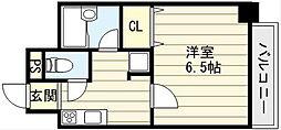 大阪府大阪市東成区深江南2丁目の賃貸マンションの間取り