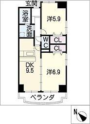 パローレ20[2階]の間取り