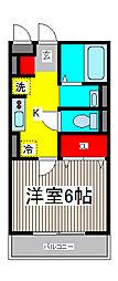 トレビナ北戸田[3階]の間取り