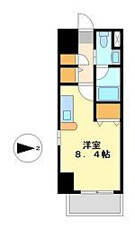 レジディア栄[3階]の間取り