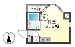 レナジア新栄[3階]の間取り