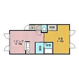 エクセルマンション2[3階]の間取り