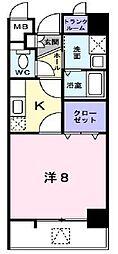 カルム吉野町[7階]の間取り
