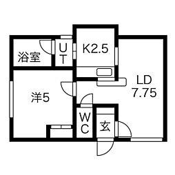 東区役所前駅 3.8万円