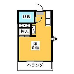 ハイツティファニー[2階]の間取り